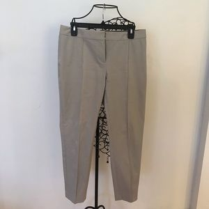 Theory Grey Ankle Pants